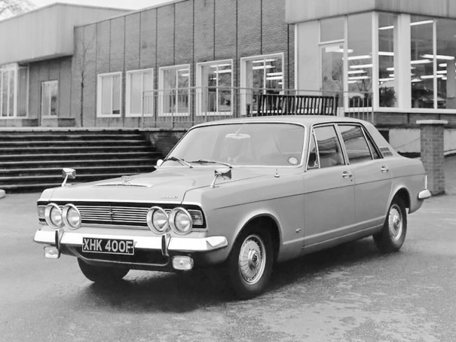 The Rover-Triumph story: Ford's executive offerings were creamed by Rover and Triumph.