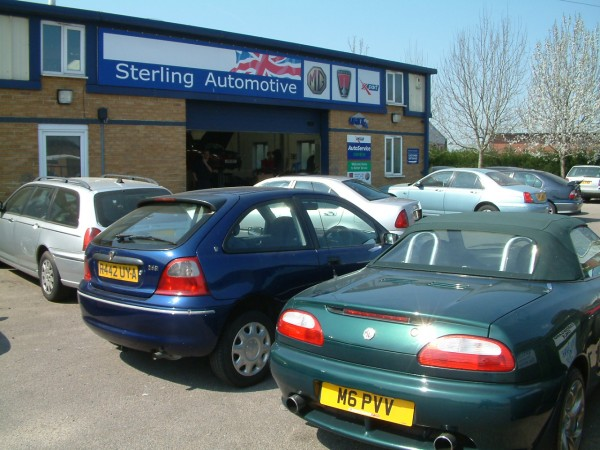 A leading name in MG Rover specialists since 2006: Sterling Automotive has ceased  trading..