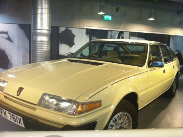 Rover SD1 in the Science Museum (1)