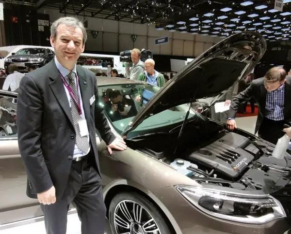 Peter Matkin, ex-Jaguar Land Rover is Qoros' Executive Director of Vehicle Programs.
