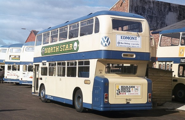 Visually similar to the Leyland Atlantean, the Daimler Fleetline gave Leyland a good run for supremecy.