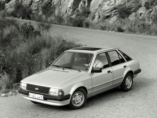 Ford Escort was the UK's bestselling car in 1982