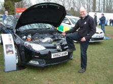 Ian Pogson from SAIC UK couldn't resist a Woollard!