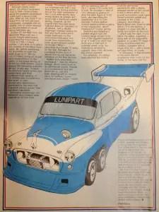 Morris racer - full