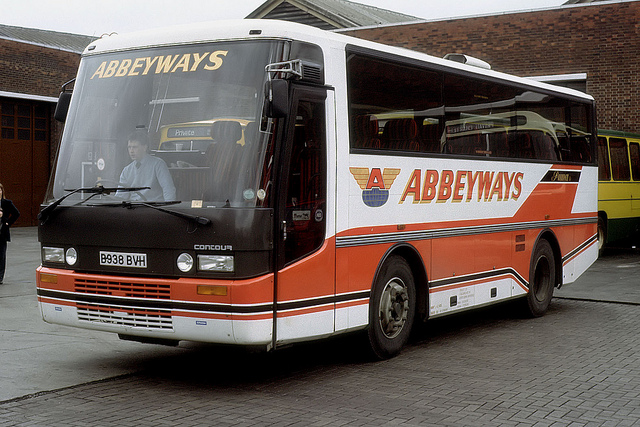 The Wright Contour body with ACE PUMA chassis. Abbeyways M.D Steve Ives was instrumental in the ACE / Ward Bros business.