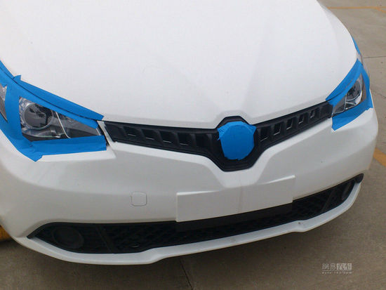 MG5 Turbo styling tweaked