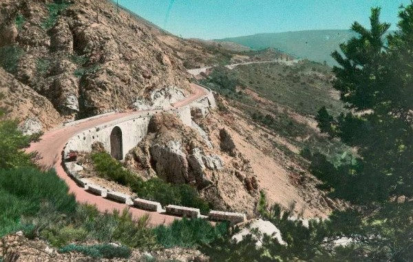 Route Napoleon postcard
