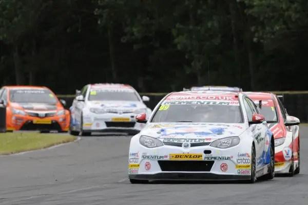 Jason Plato, MG KX Momentum Racing, Croft, 2013