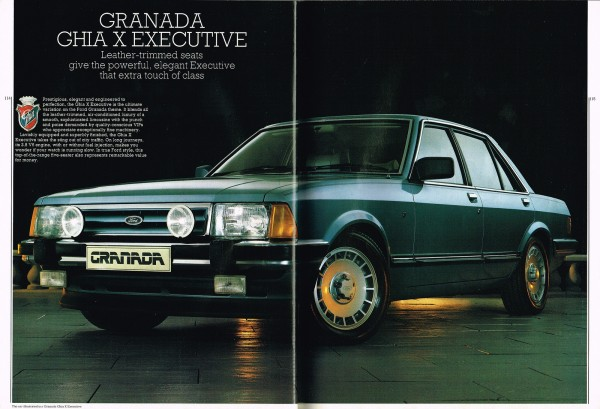 When cars had the X-Factor - The awesome Ford Granada 2.8i Ghia X Executive.