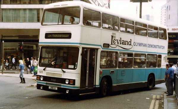 The Olympian brought some stability to Leyland but not enough to stave off future events.