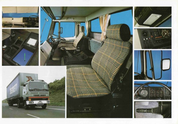 The award winning Leyland T45 was styled inside and out by Ogle Design and had many industry first