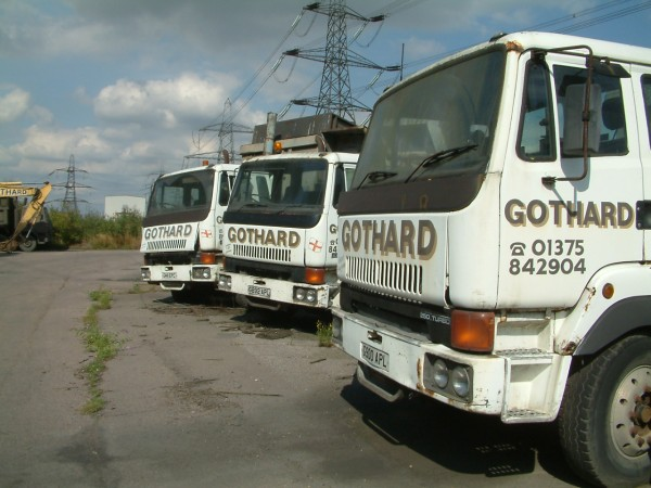 With the power station now closed, time has been called on Tony Gothard's T45 fleet.