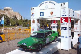 Harry Zaglanikis' Green/White Force 7 is a rally regular, and has been to Greece, Turkey, Italy and Austria.