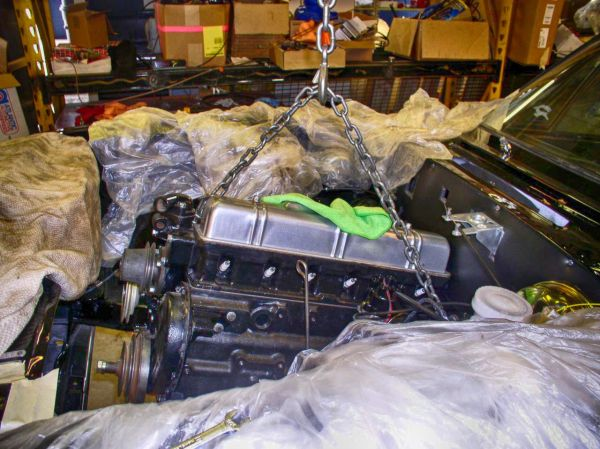 our cars richard truett s triumph stag part 3 aronline installing the straight six into the stag