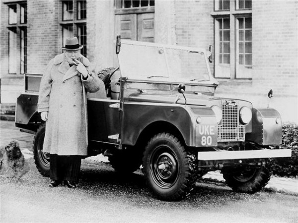 Land Rover Series I 86in (1954) The Land Rover Series I had been improved with a lengthened wheelbase (up to 86 from 80 inches). And one of the most famous examples of all was owned by Winston Churchill. It was modified to feature a extra-wide passenger seat and heated footwell, and was sold by Cheffins in 2012 for £129,000.
