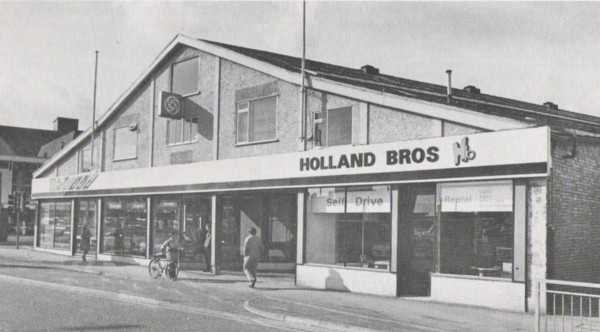 Holland Brothers, Wide Bargate showroom, Late 1981.