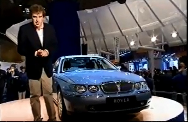 Clarkson: 'For me, the Rover 75 is the star of the show'