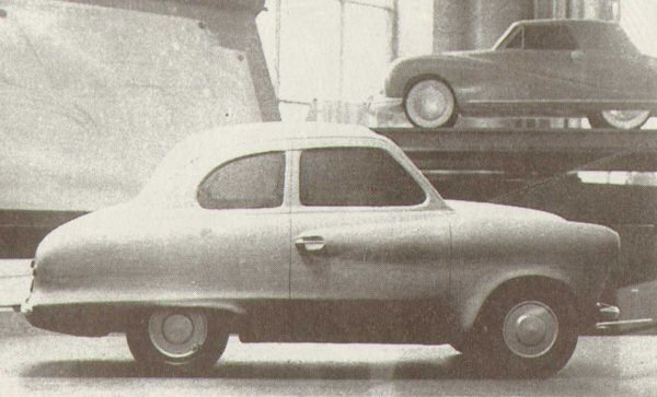 Early A30 styling proposal from Dick Burzi's team at Longbridge