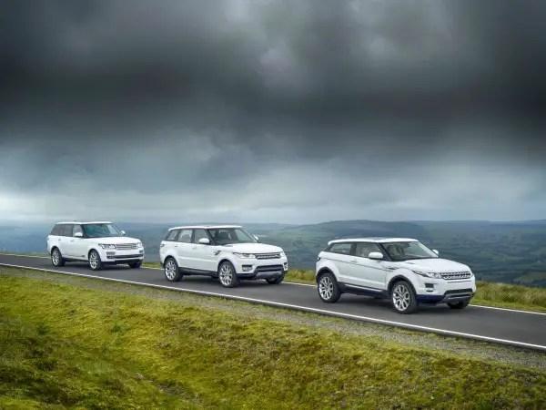 2014 Range Rovers