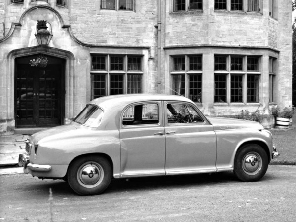 Rover P4: lounge on wheels