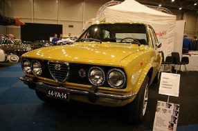 Unrestored, 1st owner Alfetta