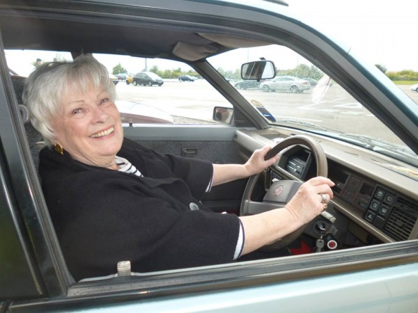 Nicolette Mckenzie, the voice of the Maestro digital dash - is united with an ultra-rare early Montego...