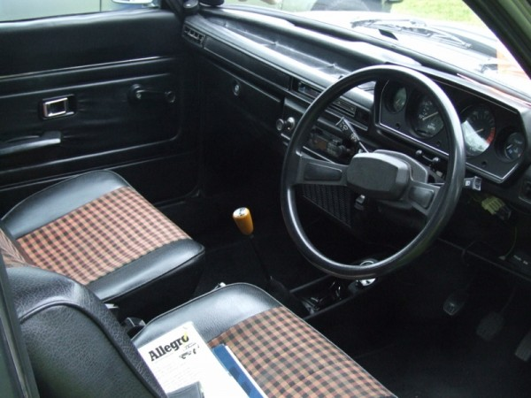If you have four grand to spare, then it could get you behind this rather unusual steering wheel...