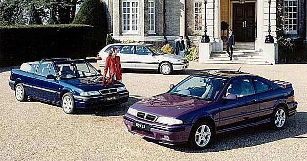 The R8 platform was exceptional engineering value. A range of stylish hatchbacks, saloons, estates and Coupe's were born from one exceptionally well developed Honda-Rover partnership.