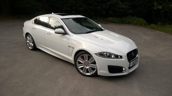 Subtle, but by no means understated - the XF-R means business