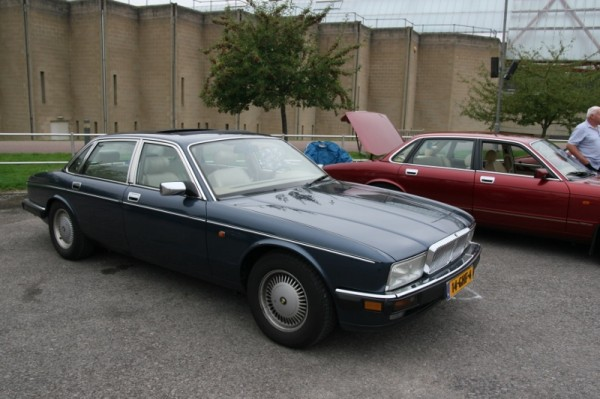 Well-travelled - this XJ40 had travelled all the way from Holland
