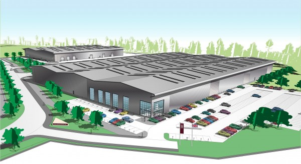 The new Rolls-Royce Technology and Logistics Centre at Bognor, set to open in 2016