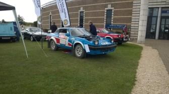 TR7 Rally car made a wonderful noise.