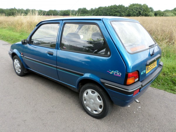 There aren't many Mk 2 Metros that appear to be this solid...