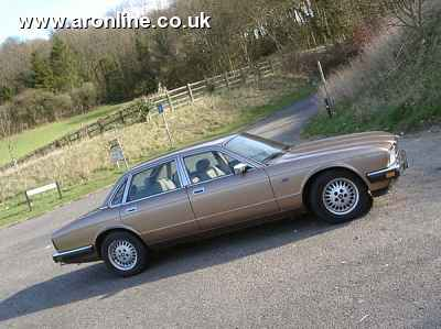 My second XJ40 - sold to Keith Adams in 2006 and subject of a long term report right here...