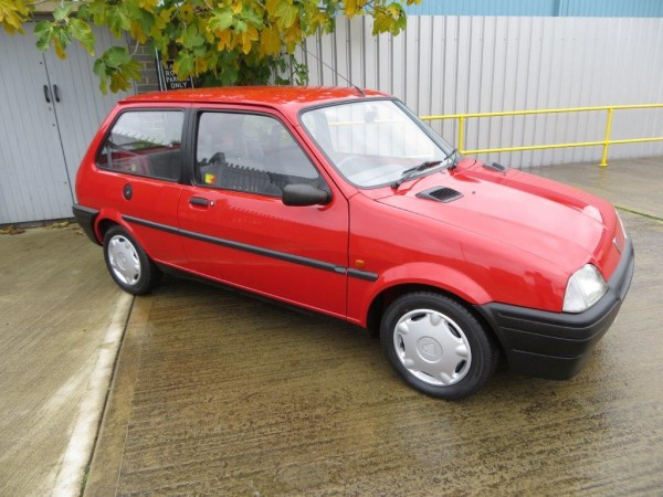 Buy now, in time for the Jubilee...Rover Metro turns 25 next year