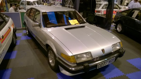 Mike's Car of the Show - a late Sd1 3500 Vanden Plas - and a thoroughly lovely one at that. Anyone we know?