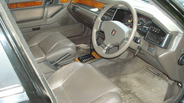 Some fine cracks to the leather, but with just 53k on the clock the interior is excellent