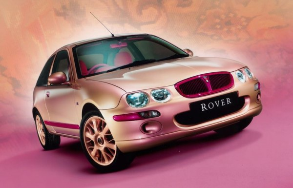Compared to the interior, the outside of the Rover 25 Art Car wasn't actually that bad. I wonder what happened to it?