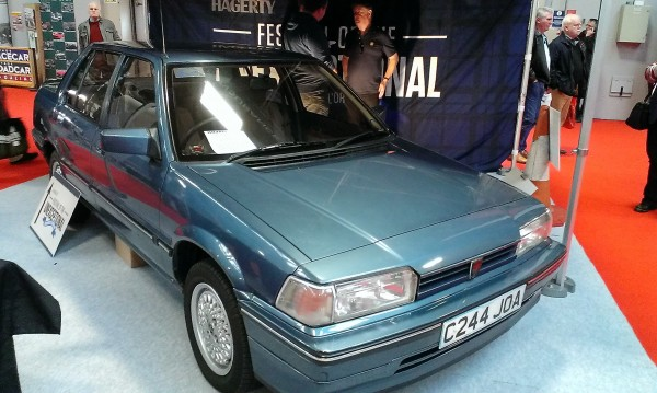 The Rover 200 series has reached 30 this year. 1.6 versions followed a year later and this is the last remaining pre facelift Vitesse - it's quite stunning and has some very special history too!