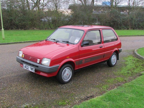 Anglia Car Auctions' MG Metro achieved £4,095