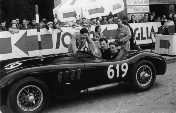 Norman Dewis and Stirling Moss on the 1952 Mille Miglia