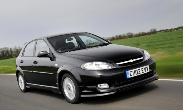Probably not their finest hour, the Lacetti was a Daewoo hangover (and, yes, that is me behind the wheel!)