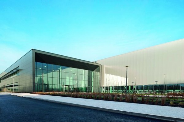 Jaguar Land Rover's recently opened Engine Manufacturing Centre at i54 South Staffordshire Photo Credit: Birmingham Post