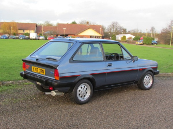 Tidy Fiesta XR2 - but was it really worth £9,250? Clearly, yes