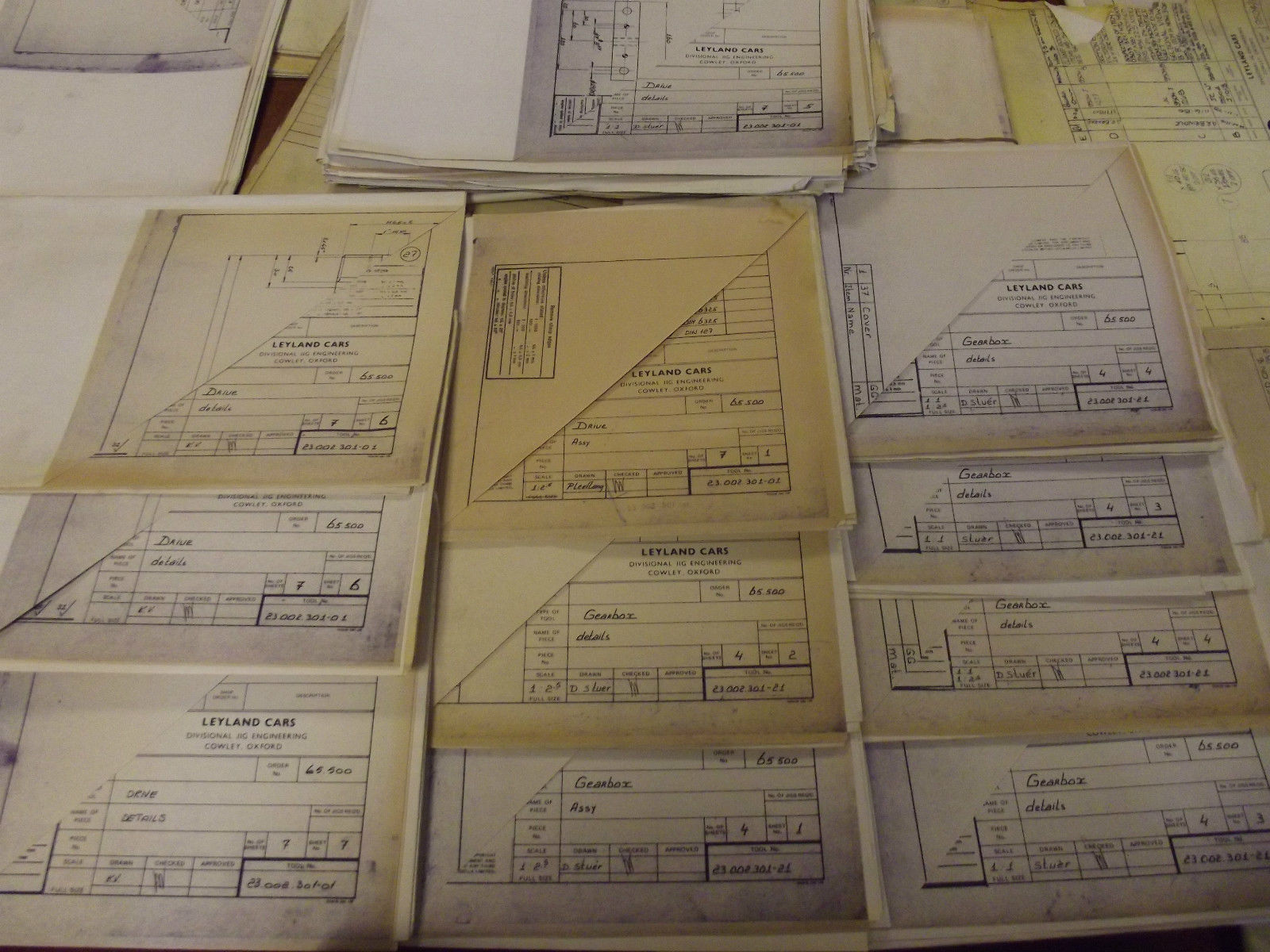 Ebay find of the week blueprints to make your own metro aronline plus a full set of factory layout plans malvernweather Choice Image