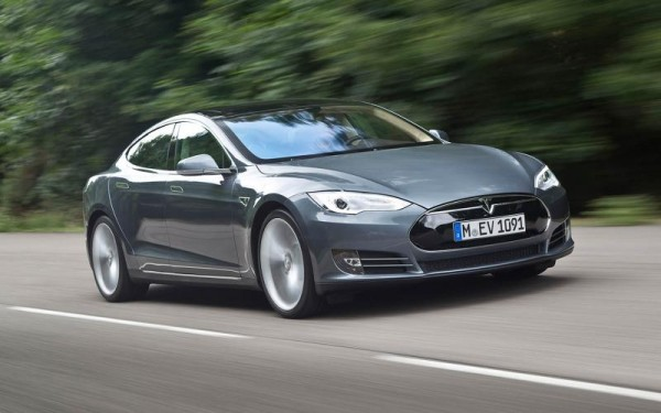 Tesla Model S. I can't help but love it...