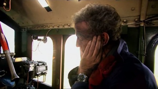 The race to the north episode with JC on the footplate of the locomotive Tornado was one of the best episodes I ever watched. When it involves a personal interest, he does it brilliantly with passion and flair.