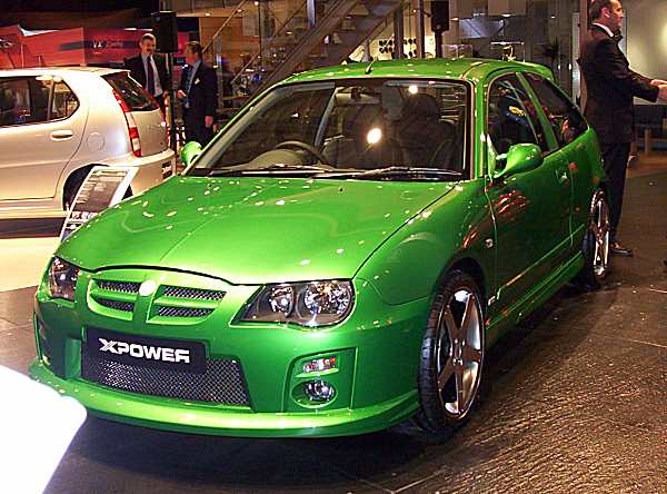 MG ZR XPower was a concept, but it should have been a production model