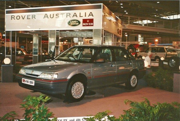 R8 416 was shown at Sydney Motor Show, but the decision was taken not to import it to Autralia