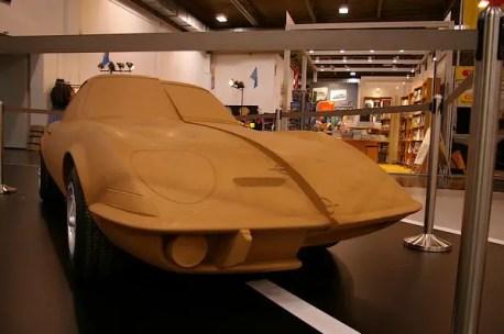 Opel GT clay model